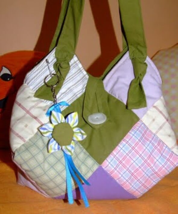 Bolsa de retalhos artesanal 02