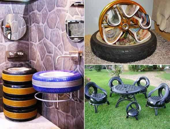 Reciclando pneus usados 005