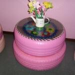 Reciclando pneus usados – 16 modelos bem interessantes