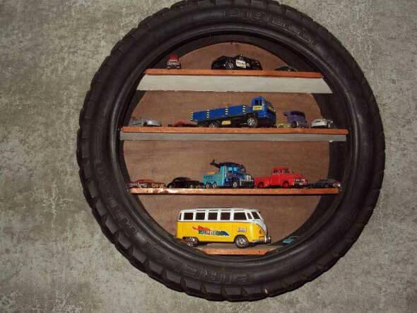 Reciclando pneus usados 014