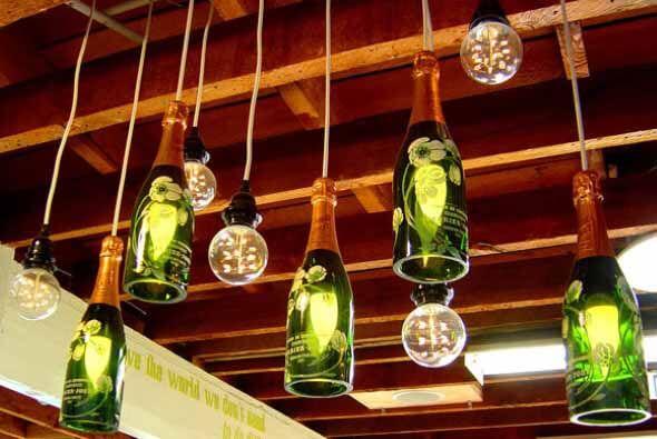 18 Formas criativas de artesanato com garrafas de vidro 004