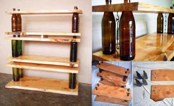 18 Formas criativas de artesanato com garrafas de vidro 015