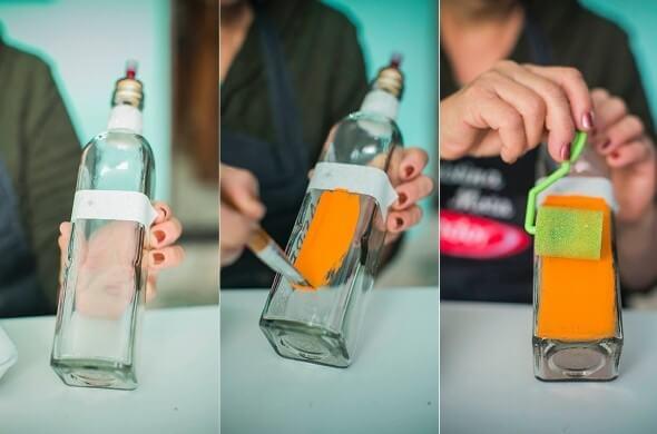 18 Formas criativas de artesanato com garrafas de vidro 017