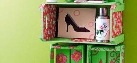 Aprenda a fazer móveis com caixote de feira