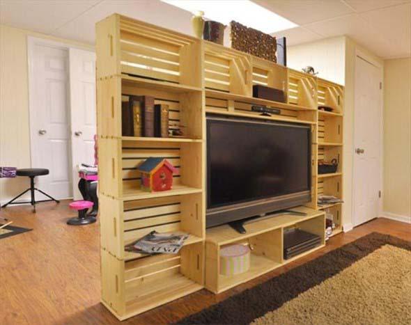 Aprenda a fazer móveis com caixote de feira 008