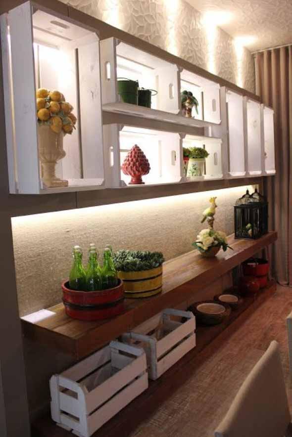 Aprenda a fazer móveis com caixote de feira 012