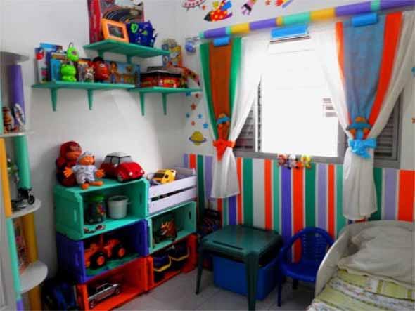 Aprenda a fazer móveis com caixote de feira 013