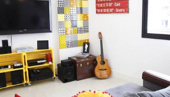 Aprenda a fazer móveis com caixote de feira 015
