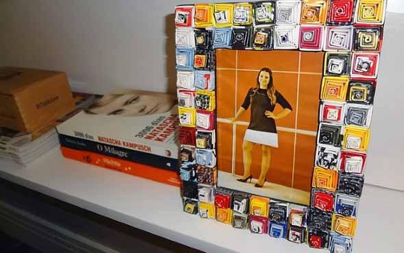 Como reciclar revistas antigas 005