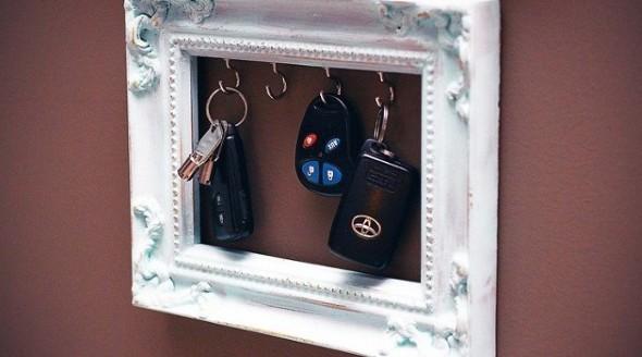Como fazer um porta-chaves artesanal 005