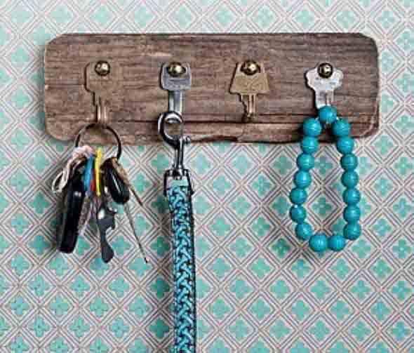 Como fazer um porta-chaves artesanal 007