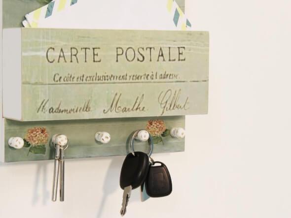 Como fazer um porta-chaves artesanal 008