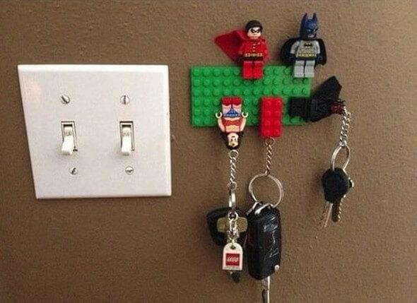 Como fazer um porta-chaves artesanal 014