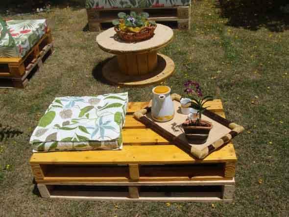 Paletes no seu jardim 001
