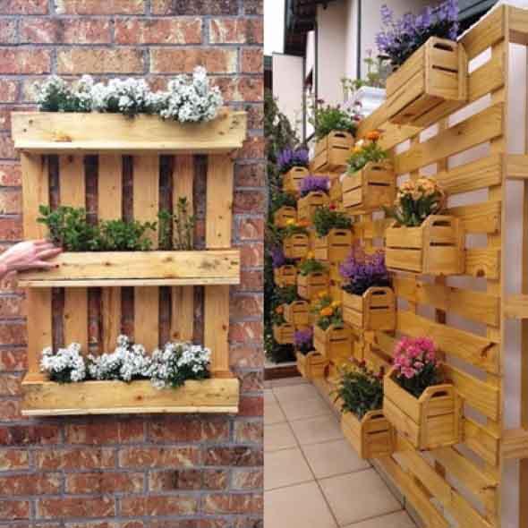 Paletes No Seu Jardim Saiba Como Usar