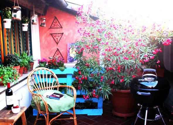Paletes no seu jardim 011