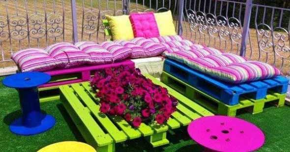 Paletes no seu jardim 012