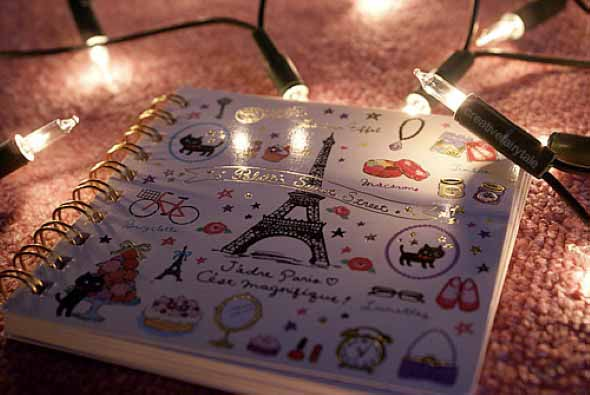 Como decorar seu caderno escolar 004