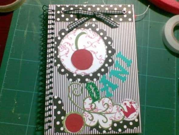 Como decorar seu caderno escolar 009