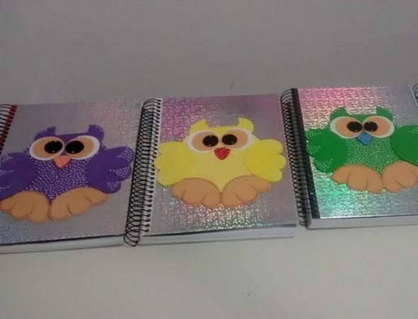 Como decorar seu caderno escolar 015