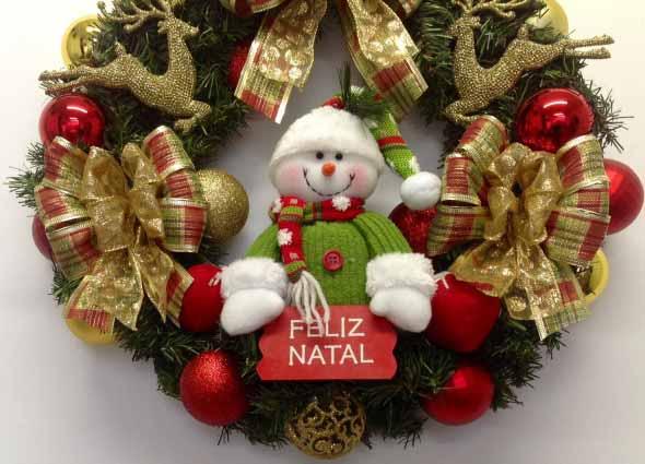 Faça em casa sua guirlanda de Natal 001