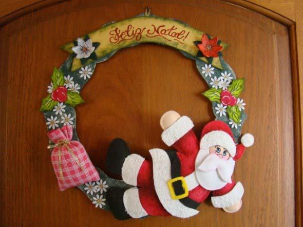 Faça em casa sua guirlanda de Natal 011