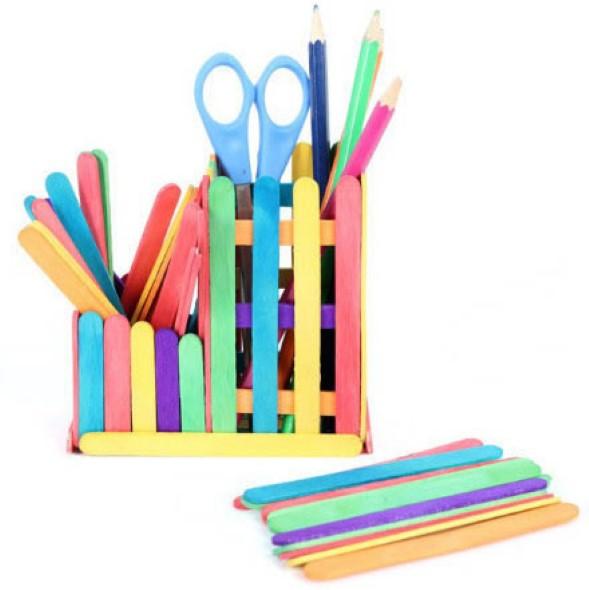 Ideias criativas com palitos de picolé 003