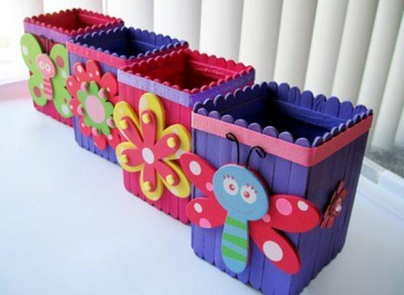 Ideias criativas com palitos de picolé 009