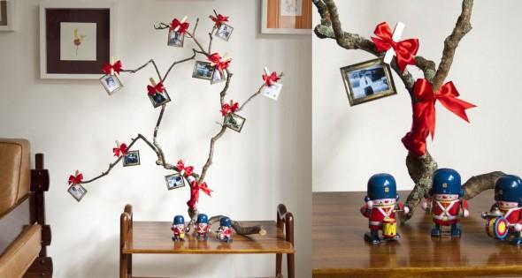 ideias de enfeites de Natal artesanais 008