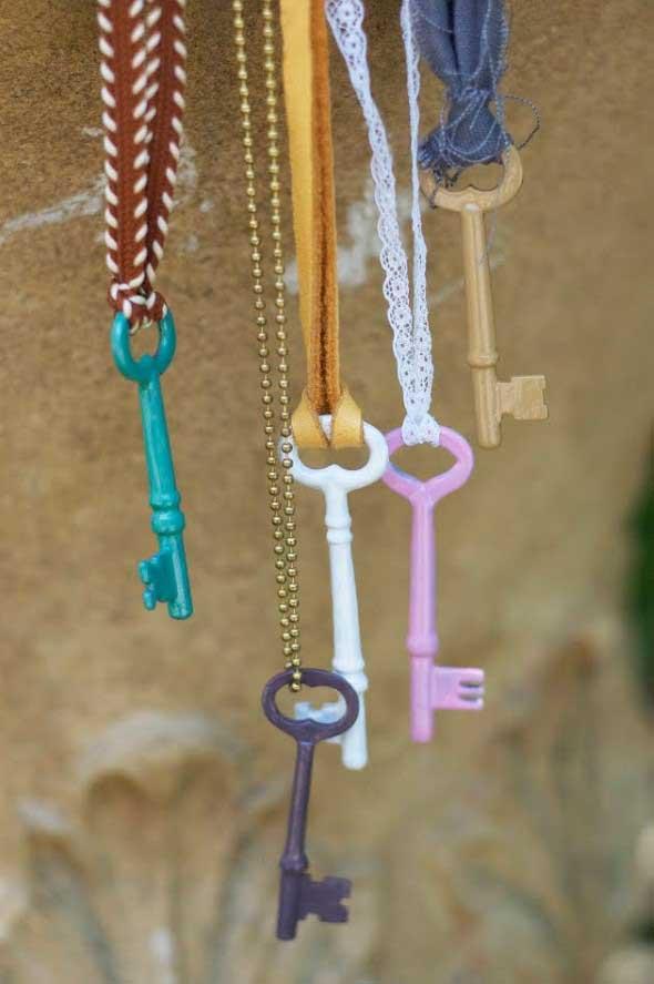 Artesanato com chaves 003
