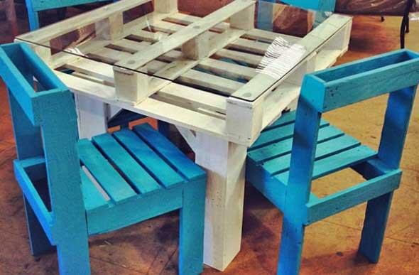 Artesanato com madeira 016