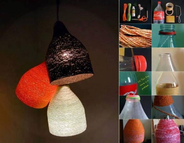 Faça artesanato com garrafas de plástico 016