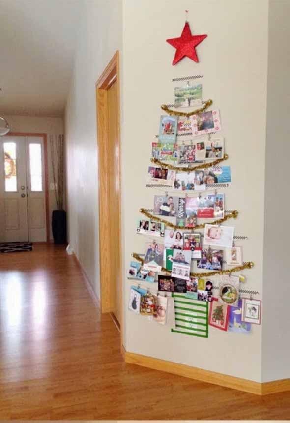 Ideias criativas para montar sua árvore de Natal 003
