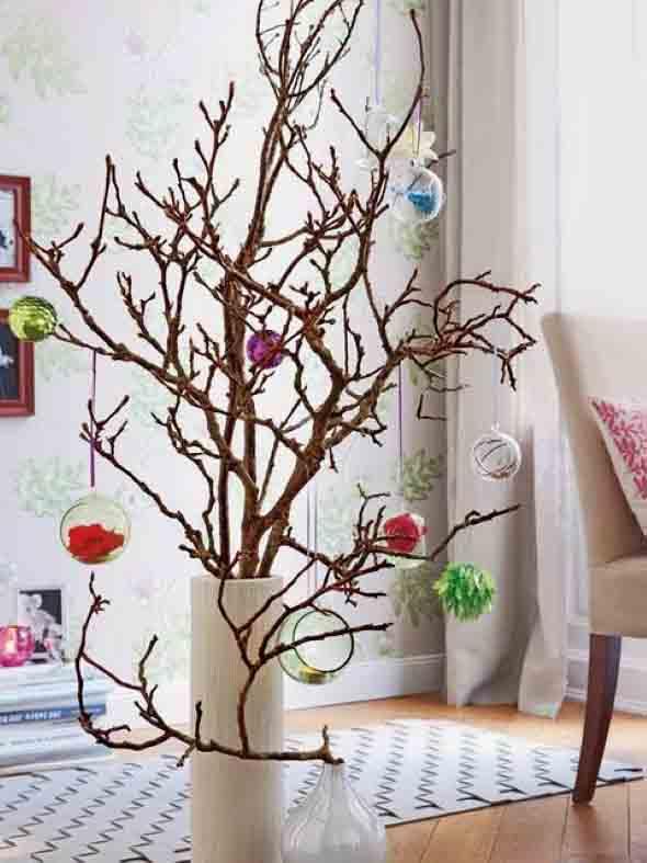 Ideias criativas para montar sua árvore de Natal 005