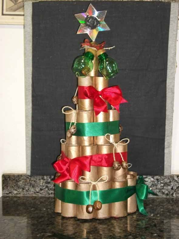 Ideias criativas para montar sua árvore de Natal 010