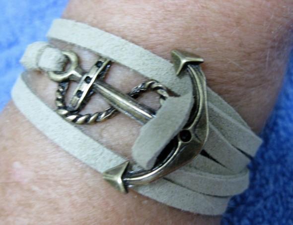 Aprenda a fazer pulseiras navy 004