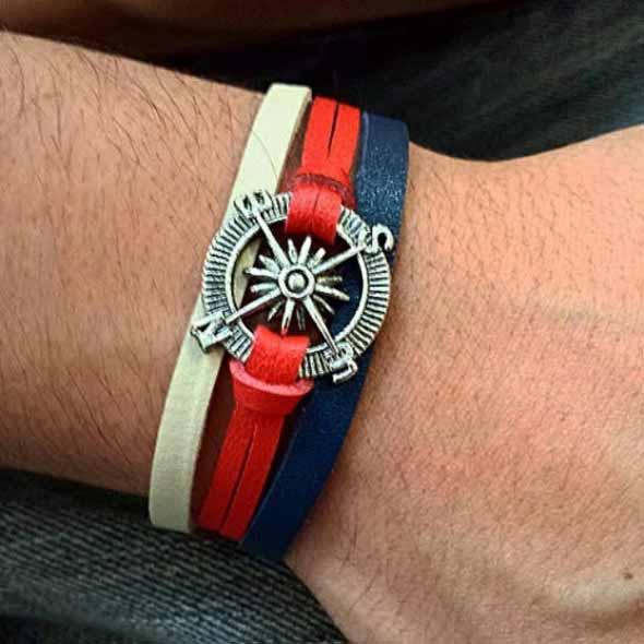 Aprenda a fazer pulseiras navy 007