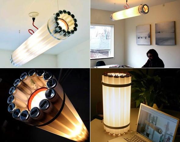 Artesanato com lâmpadas queimadas 003