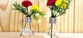 15 dicas de artesanato com lâmpadas queimadas