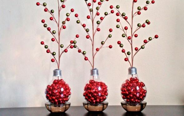 Artesanato com lâmpadas queimadas 011