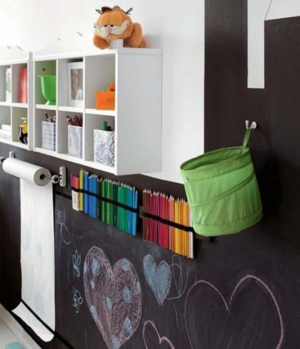 Como fazer porta-lápis de parede 014