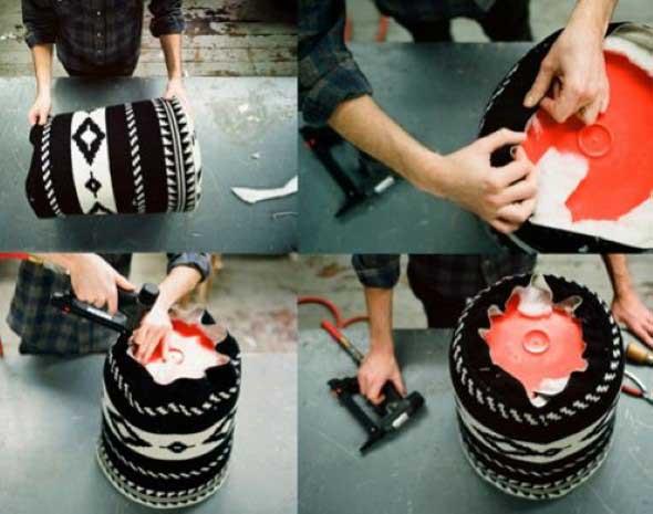 Dicas de artesanato com baldes 012