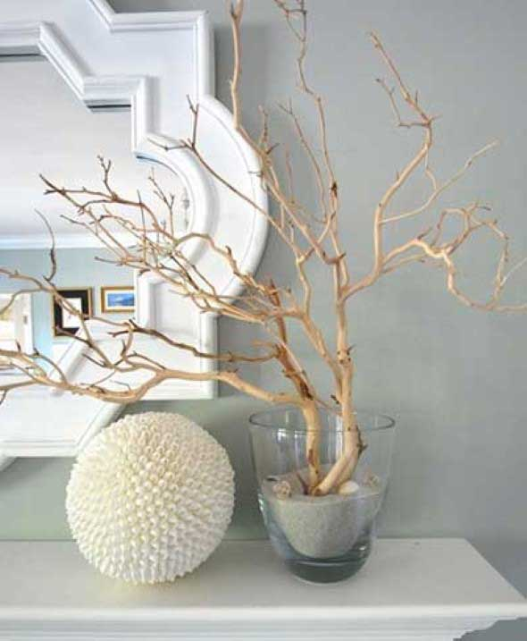 Ideias de artesanato com galhos secos 011