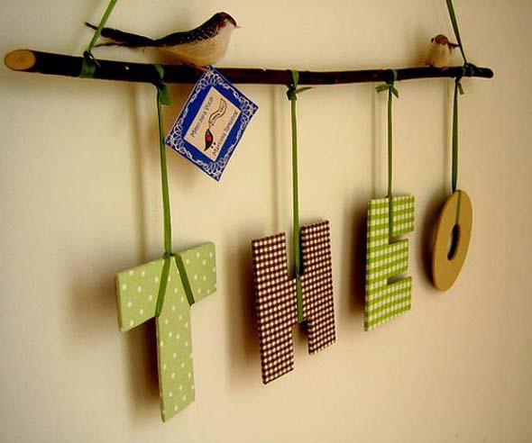 Ideias de artesanato com galhos secos