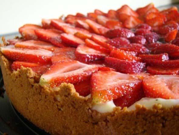 Receita de torta de morango 001