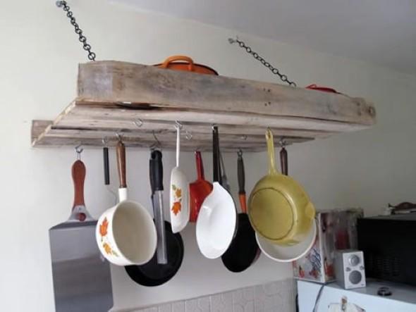 15 Ideias de artesanato com paletes na cozinha 005