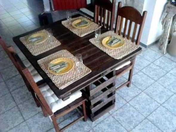 15 Ideias de artesanato com paletes na cozinha 013