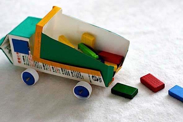 Artesanato com reciclados 012