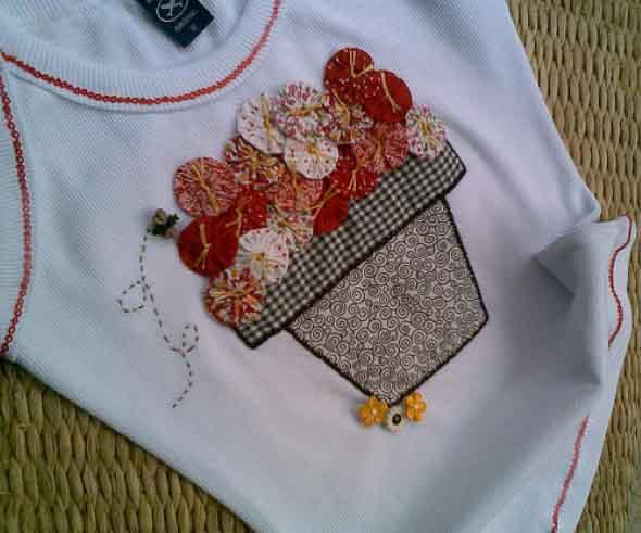 Artesanato com tecido 017