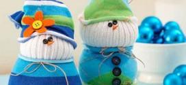 Como fazer um boneco com meias de algodão